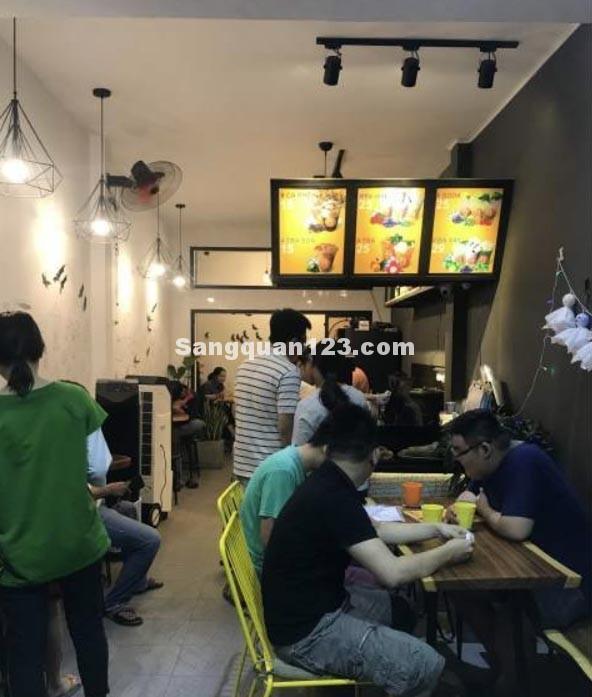 Sang quán cafe, trà sữa có lượng khách ổn định, khu dân cư đông đúc