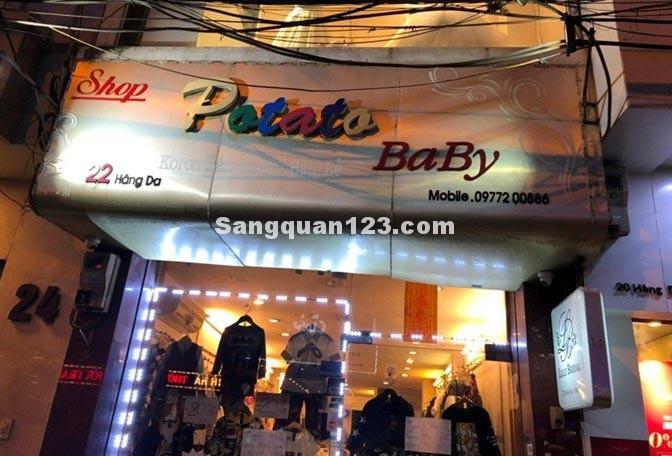 SAng nhượng cửa hàng quần áo trẻ em kinh doanh lâu năm