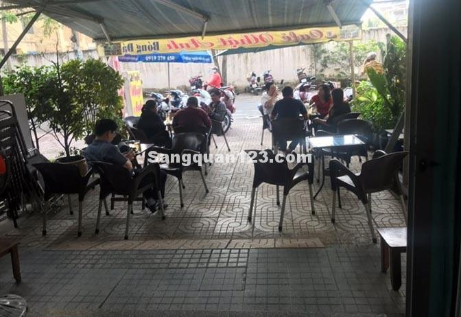 Sang quán cafe bên hông trường đại học Công Nghệ Sài Gòn