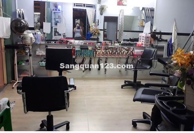 Cần sang gấp tiệm tóc đường Phạm Văn Chiêu, mặt bằng 2 MT, 30tr