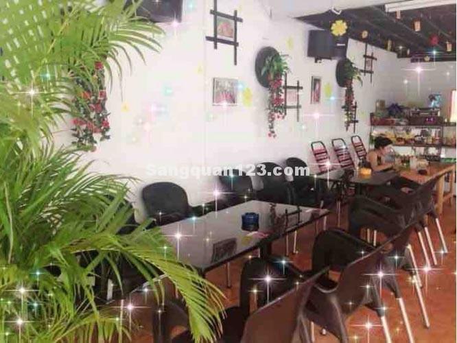 Sang quán cafe mặt tiền đường Chợ Lớn quận 6 ngay khu vực trung tâm đông đúc