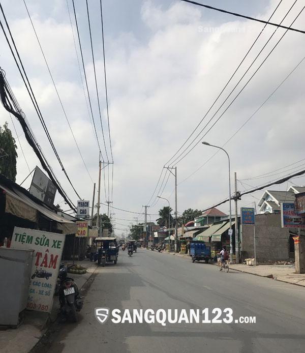 Sang gấp nhà Thuốc tây mặt tiền đường Võ Văn Vân, H. Bình Chánh