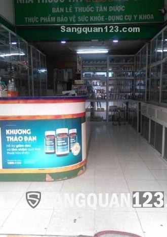Sang nhượng nhà thuốc Tây mặt tiền Nguyễn Thị Nhỏ , Quận 11