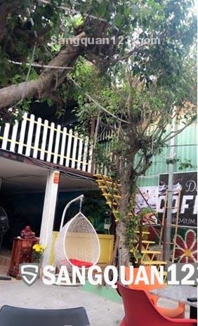 Cần sang quán cafe sân vườn mặt tiền vòng xoay Tỉnh Lộ 10