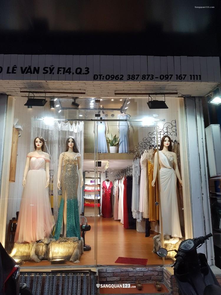 Mặt bằng đẹp đường Lê Văn Sỹ Quận 3 - Khu vực nhiều Shop thời trang