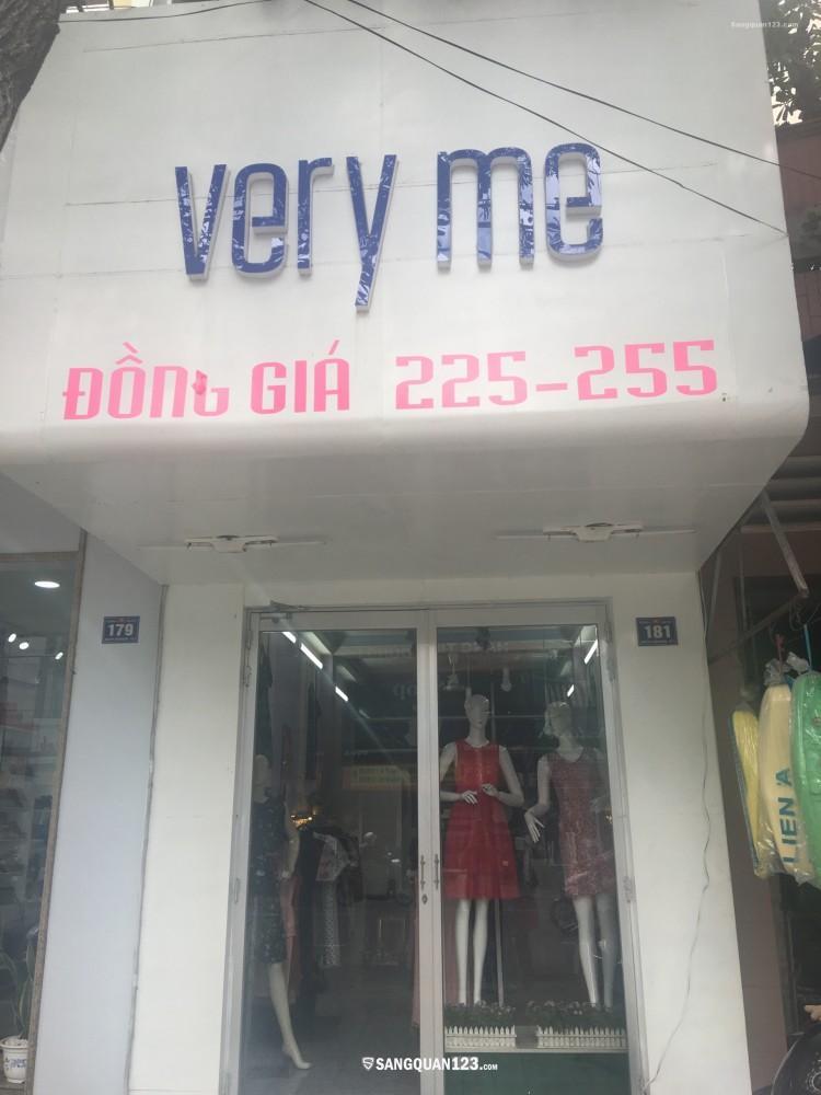 Sang lại shop thời trang nữ tại TP.Mỹ Tho, Giá sang 18 triệu