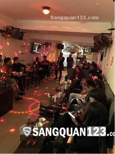 Cần sang lại quán cafe ca nhạc phường Nhân Chính