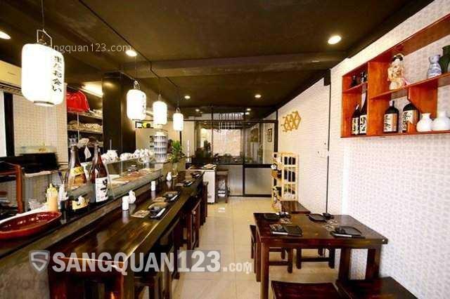 Cần sang nhượng gấp nhà hàng Nhật tại đường Nguyễn Thái Học, Q1