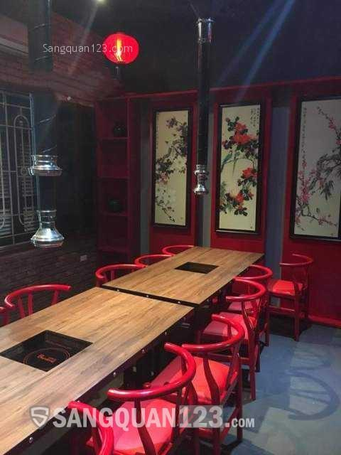 Cần sang gấp nhà hàng rộng 5 tầng mặt tiền Trung Hòa, Cầu Giấy