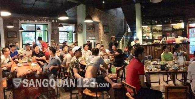 Cần sang lại nhà hàng đẹp, đông khách mặt tiền phố Bằng Liệt