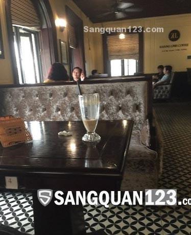 Sang nhượng quán cà phê, kinh doanh  lâu năm khách ổn định
