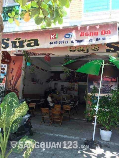 Cần sang nhượng quán cafe, trà sữa đường Hồ Quý Ly