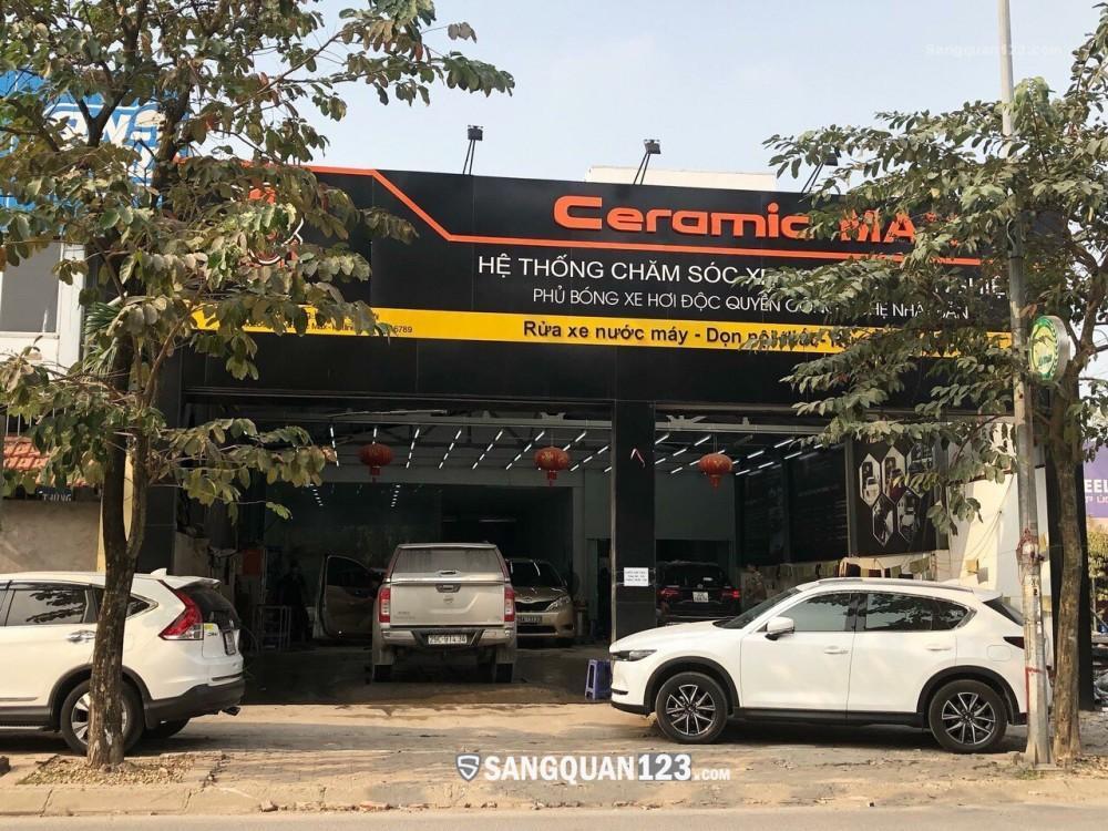 Sang nhượng lại Trung tâm Chăm sóc Xe hơi tại Q. Long Biên