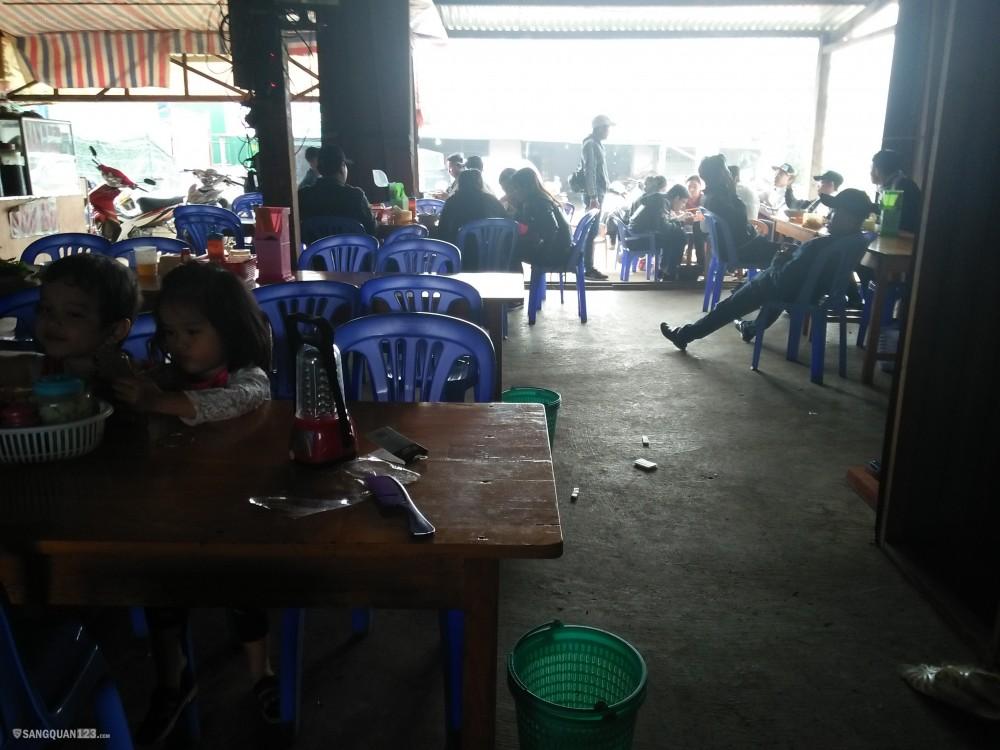 Gia đình chuyển đi Đà Lạt nên cần sang lại quán ăn cầu long lanh giá 50trieu