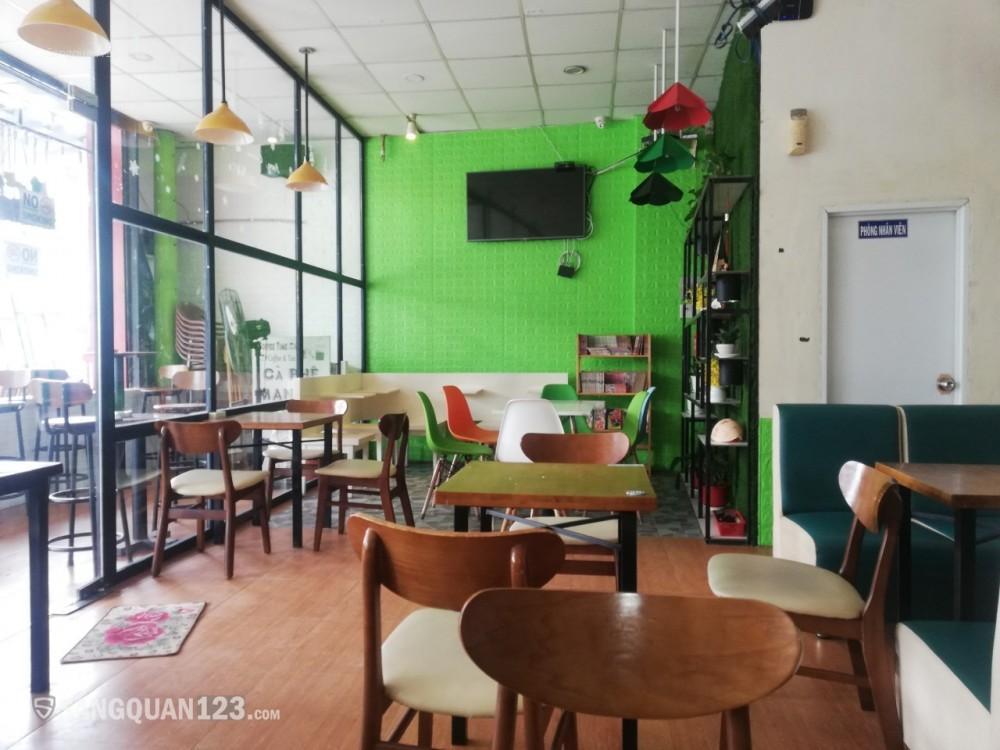 Cần sang quán cafe máy lạnh (có vỉa hè rộng) mặt tiền đường Mã Lò, quận Bình Tân