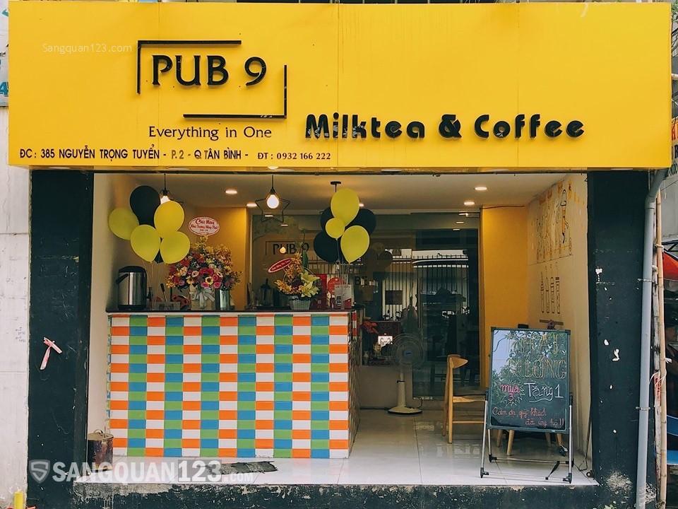 Sang quán trà sữa Nguyễn Trọng Tuyển - Tân Bình