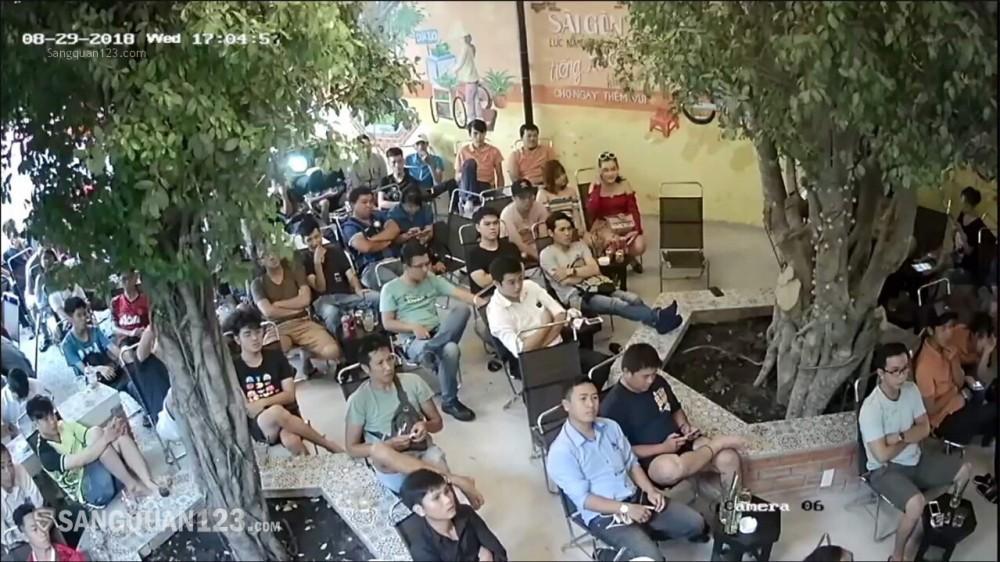 Sang nhượng mặt bằng quán cà phê tại Quận Gò Vấp
