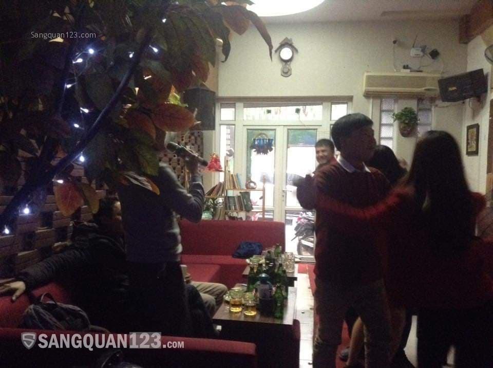 Sang nhượng Quán Cafe hát cho nhau nghe diện tích 120M2