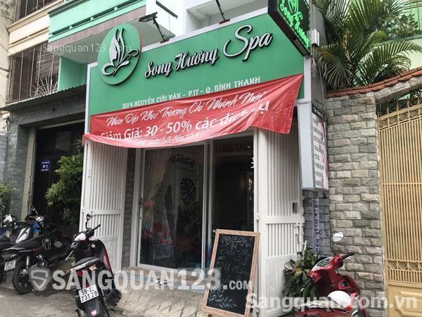 Sang spa vị trí đẹp 30/4 Nguyễn Cửu Vân, P.17, Bình Thạnh