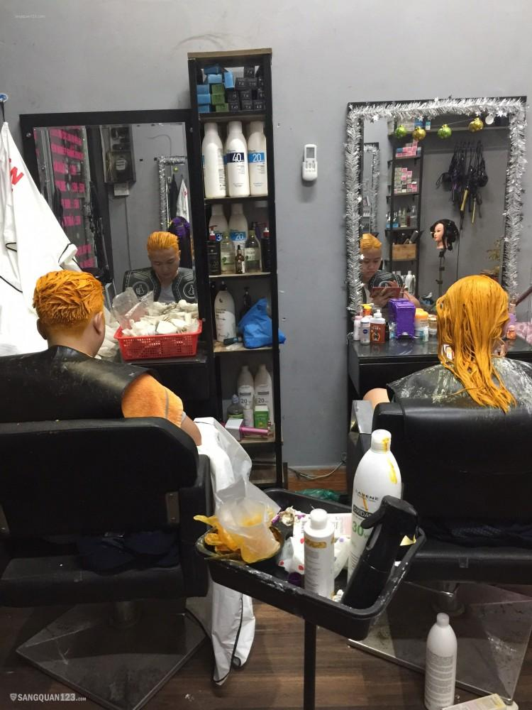 Cần sang tiệm tóc & nối mi mặt tiền đường LĐT