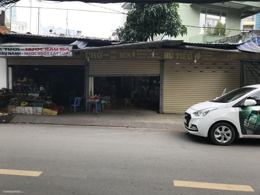 Sang mặt bằng gần sân bay Tân Sơn Nhất thích hợp cho công ty lơn và siêu thị tiện lợi