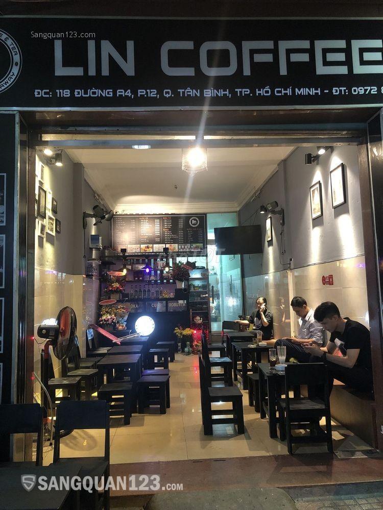 Cần sang nhượng gấp quán Cà phê khu K300 do chuyển công tác