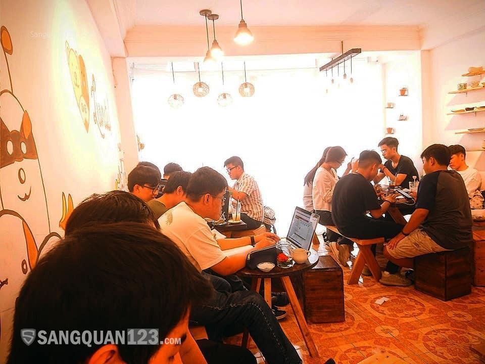 Sang quán cafe decor SIÊU DỄ THƯƠNG, 3 lầu, quận 11 (không sang tên)