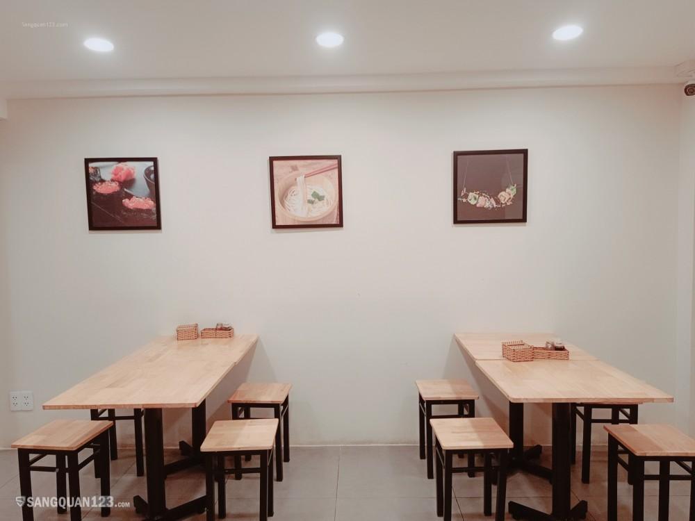 Sang quán ăn mặt tiền quận Phú Nhuận khu Phan Xích Long