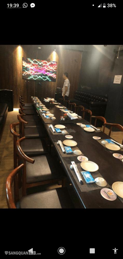 Nhượng lại nhà hàng Nhật 170 xuân diệu , vào làm ngay