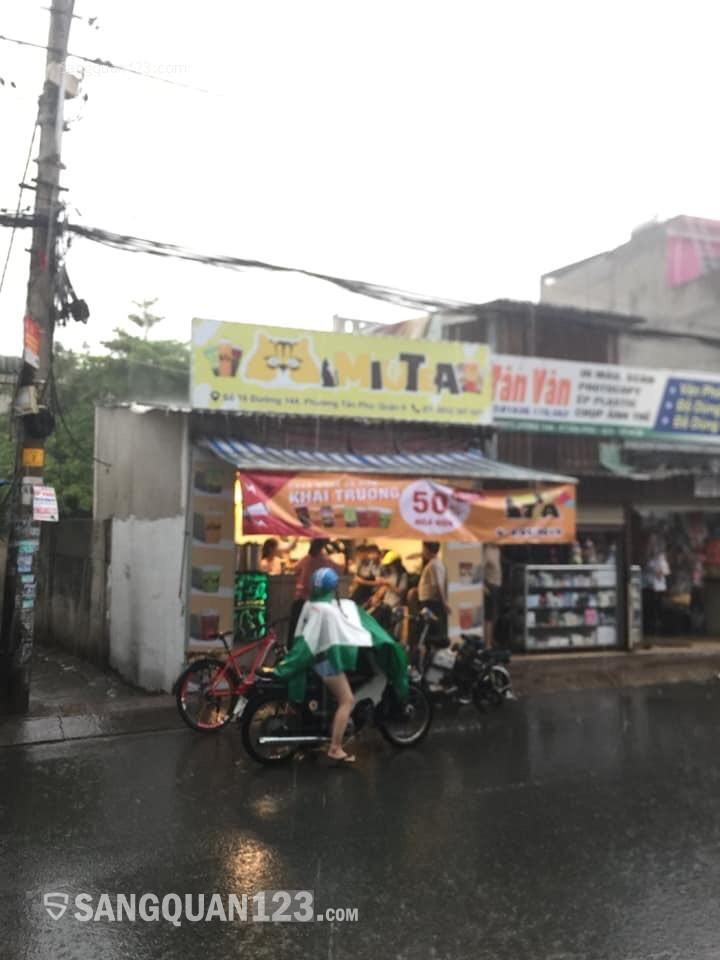 """Cần sang nhượng"""" Trà sữa MiuTea """"144, P. Tân Phú, Q. 9, thành phố HCM"""