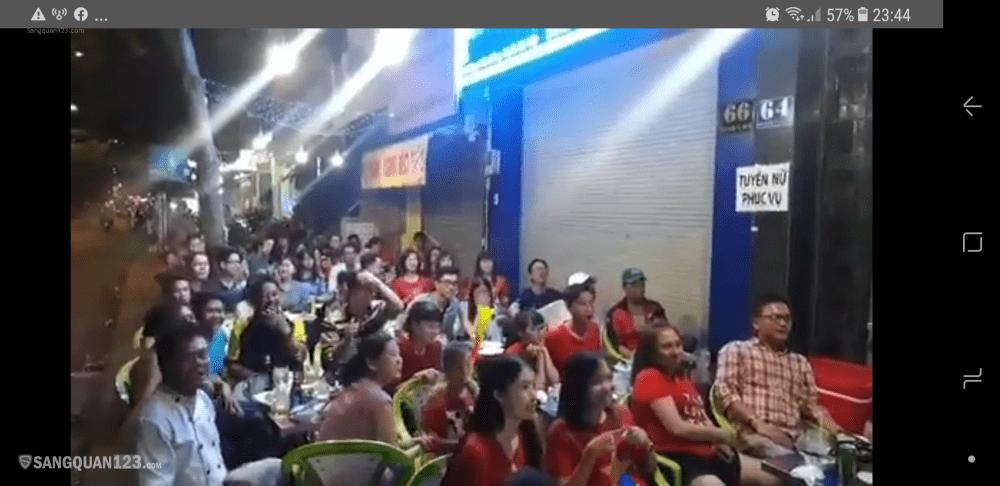 Sang quán nhậu mặt tiền Phạm Văn Đồng P3 Gò Vấp