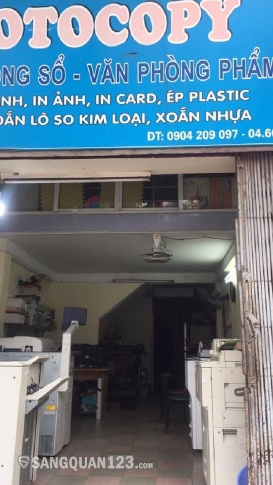 Sang nhương cửa hàng Photocopy mặt phố kinh doanh ổn định