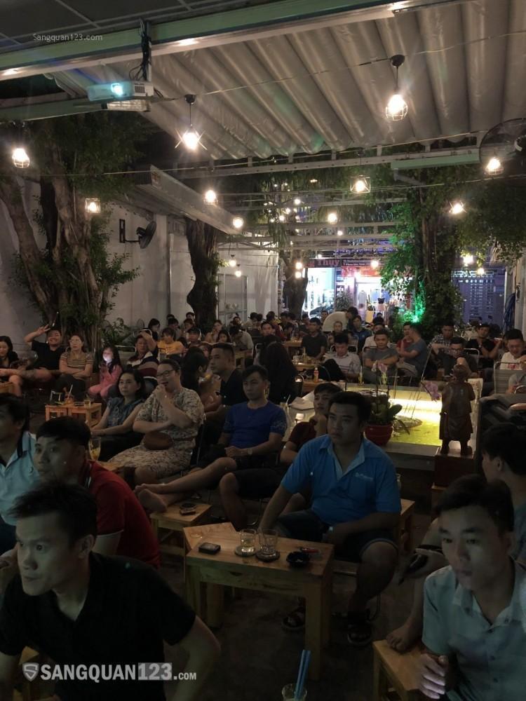 Sang quán cà phê ngay trung tâm Tân bình Khu bàu cát