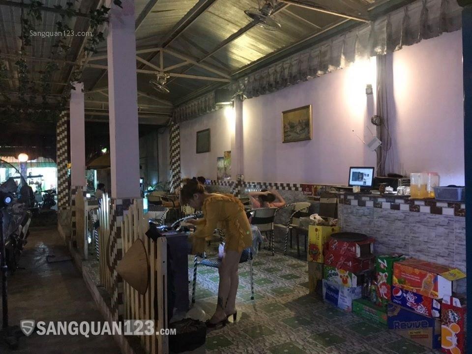 sang quán CAFE 230m2 MT Bình Trị Đông, có sẵn nội thất, tự do set up lại