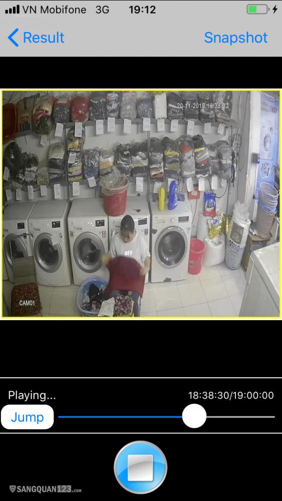 Sang nhượng cửa hàng giặt sấy đông khách giá rẻ