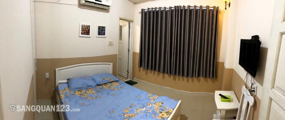 cần sang khách sạn 5x20m,4 lầu đường 46 khu vực tân tạo  ,full nội thất .