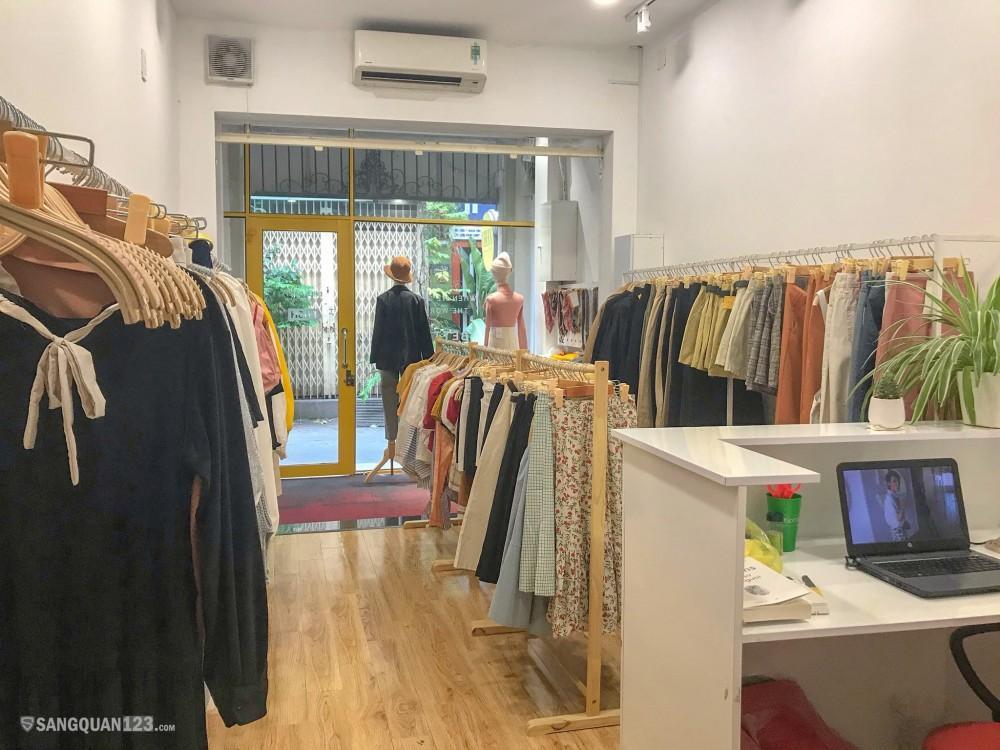 Sang nhượng lại shop quần áo nữ quận Phú Nhuận
