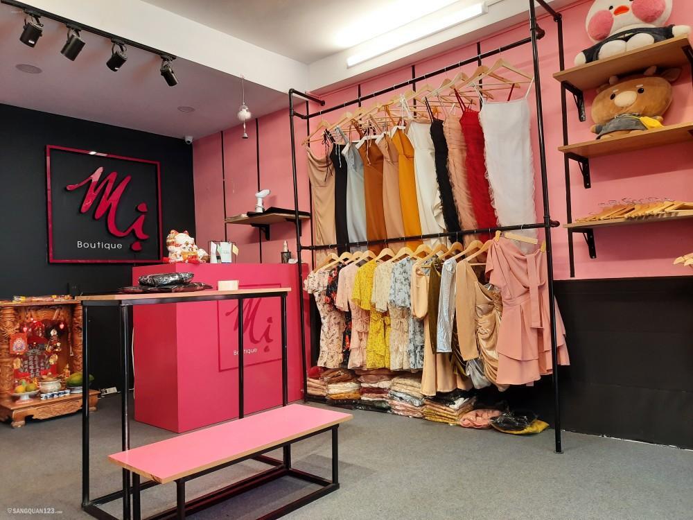 Sang shop thời trang nữ hẻm đường D2 Quận Bình Thạnh 64m2