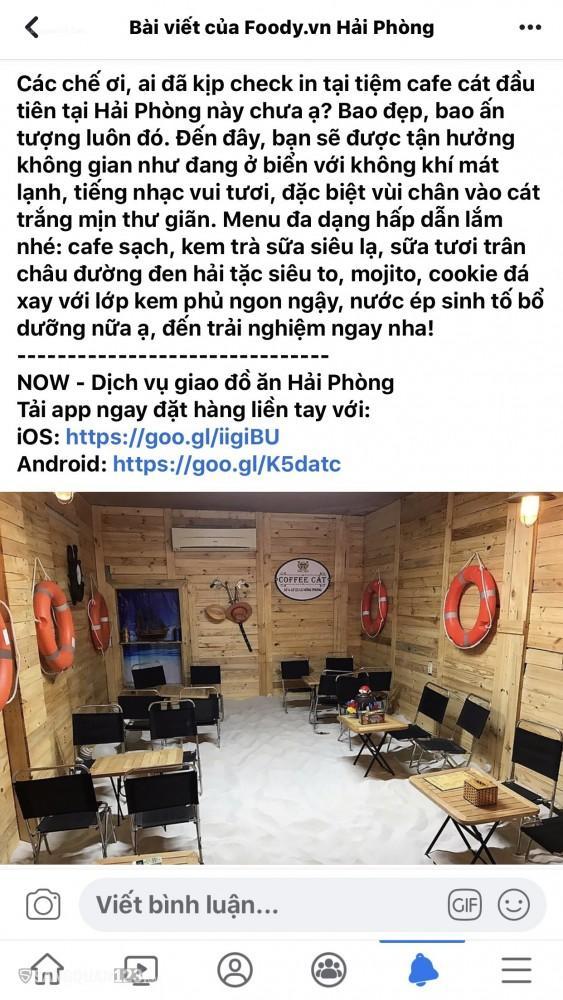 SANG NHƯỢNG QUÁN CAFE SỐ 4 LÔ 22 LÊ HỒNG PHONG HẢI PHÒNG