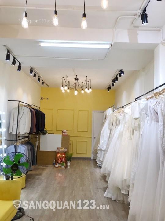 Nhượng tiệm váy cưới nguyên căn 1 trệt 1 lầu 60m2