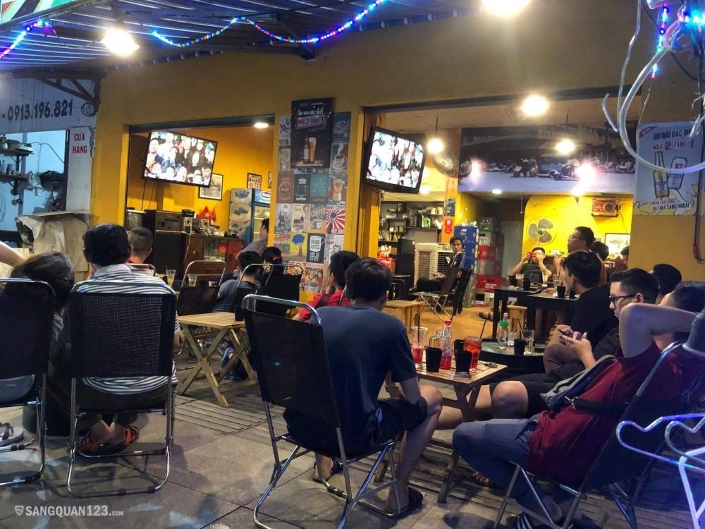 Sang gấp quán Cafe & Bia úp ngược phong cách Retro cực Hot Hot Hot