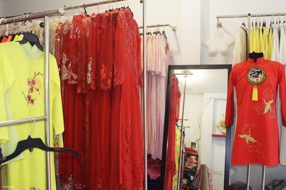 Sang shop dịch vụ cưới hỏi, cho thuê áo dài quận Tân Phú