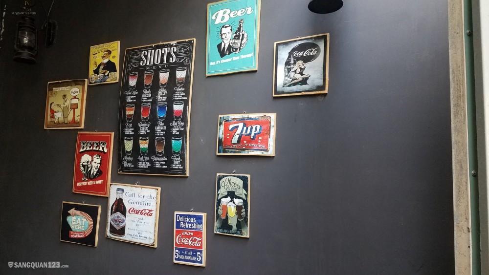 Sang quán Cafe Mặt Tiền đường Hoà Hưng, quận 10