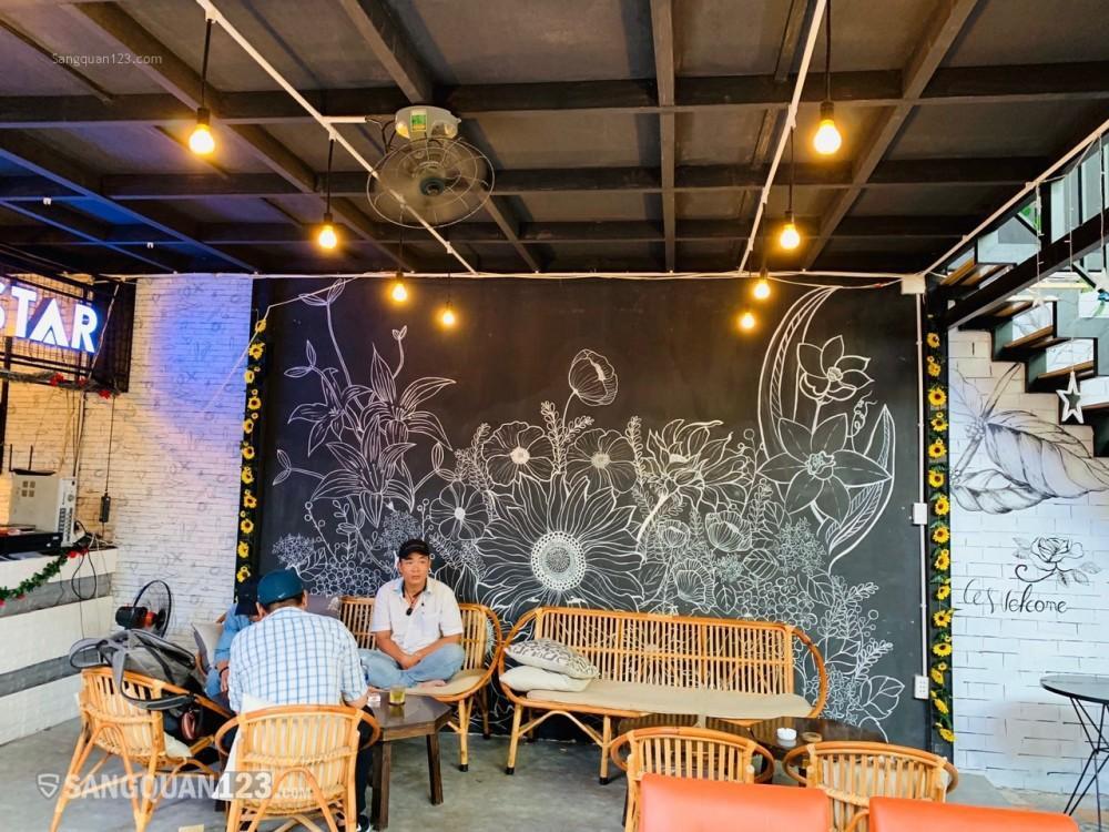 Sang quán cafe vintage 200m2 mặt tiền đường Cây Trâm