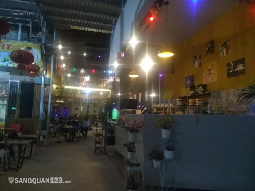 Sang nhượng gấp quán cafe mới xây dựng hoặc cho thuê mặt bằng