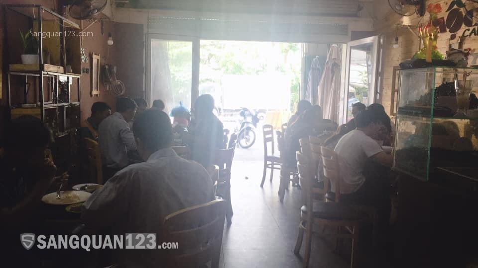 Sang quán cà phê kết hợp cơm văn phòng hoặc sang lại mặt bằng