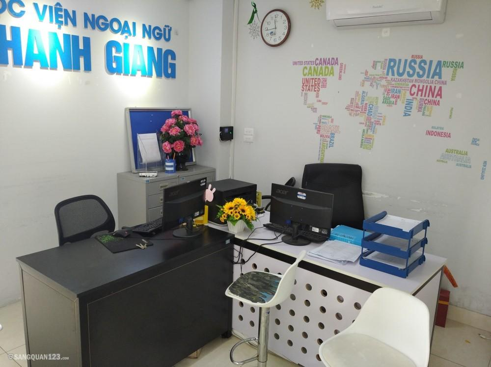Nhượng lại Văn phòng -thuê ở số 45 Lê Thanh Nghị ( gần Sân vận động bách khoa).
