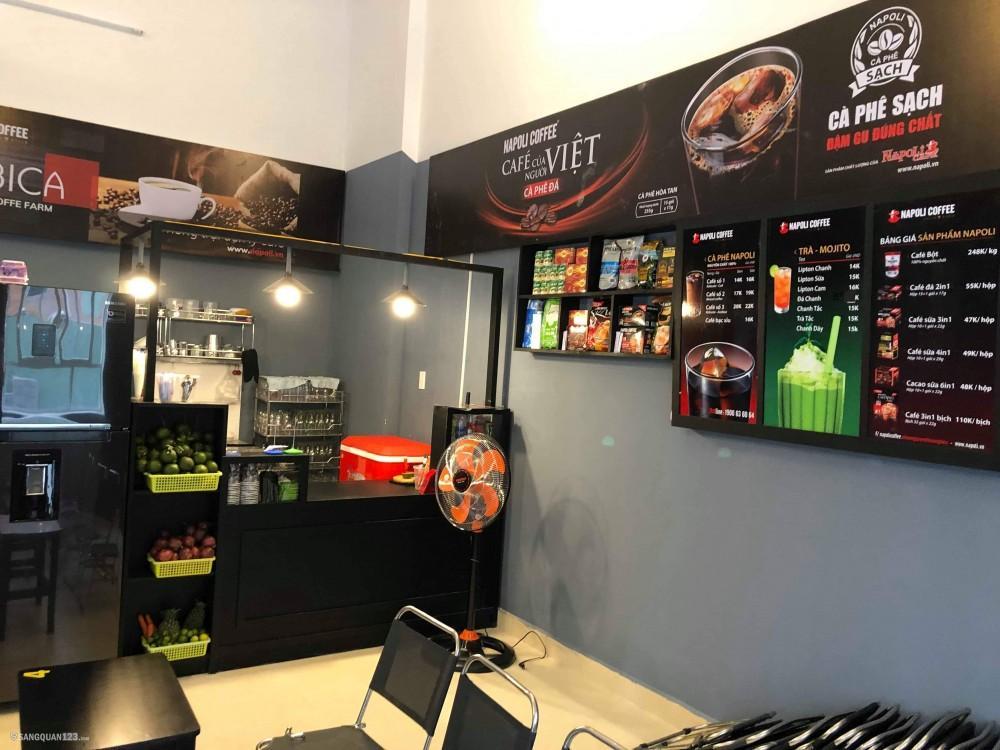 Cần sang quán cà phê nhượng quyền Napoli coffee coffee