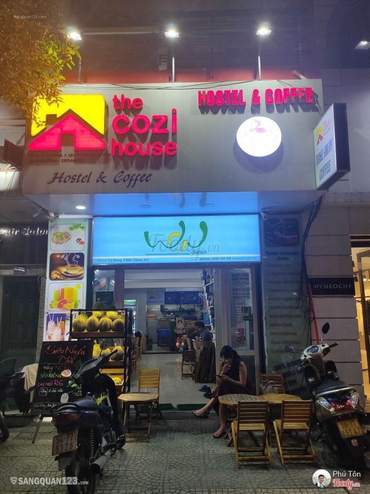 Cần sang quán cà phê-hostel giá rẻ trung tâm quận 1