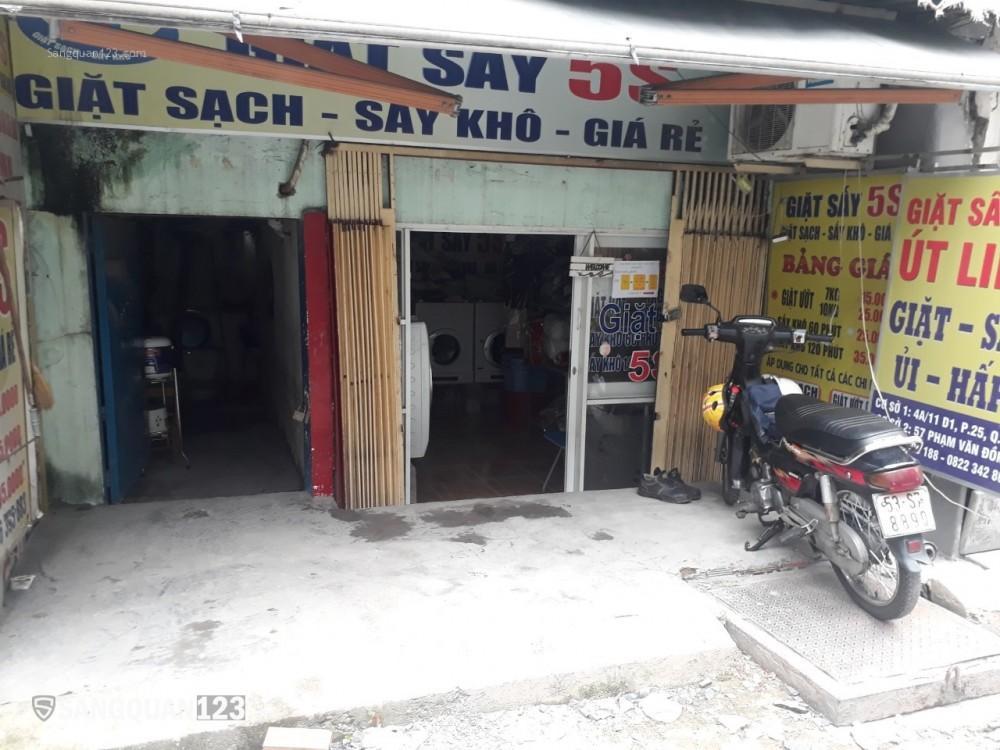 Sang nhượng tiệm giặt ủi 60 triệu, tại phường 25 quận Bình thạnh